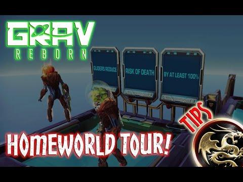 Grav Reborn Homeworld Tour & Tips - Primarch Tips