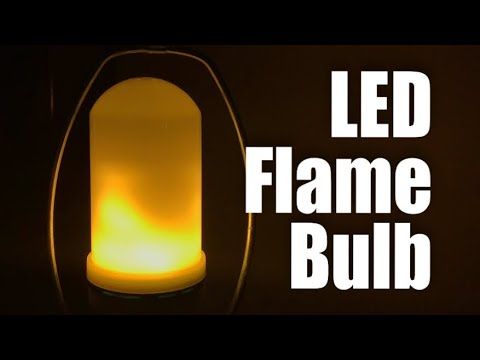 LMCO LED Flickering Flame Effect Fire Light Bulb Review