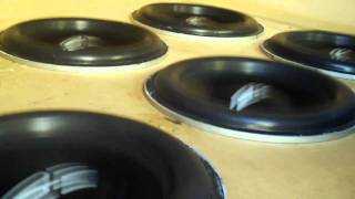 MT Subwoofer Excursion w/ 6 RE 12