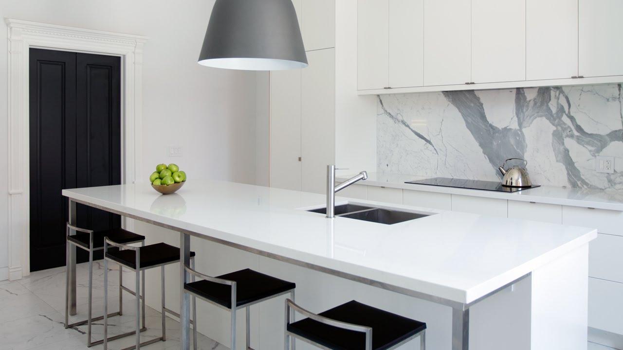 interior design — modern kitchen design with smart storage ideas