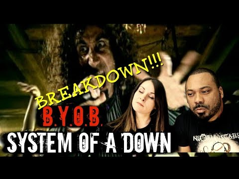 System Of A Down BYOB Reaction!!!