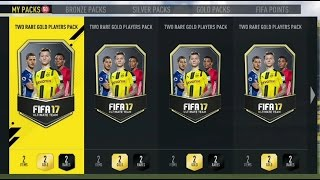 Fifa 17 Opening 50+ Two Player Gold Packs 3 Walkouts!! Insane Packs Ultimate Team & Informs