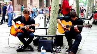 Guitar Duet in Stuttgart City Center