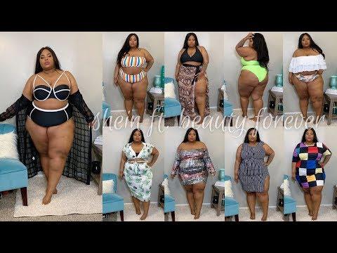 5ad6a0205d Swimsuits & Beach Vibes | Plus Size Try-On Haul | SheIn ft. Beauty Forever  - YouTube