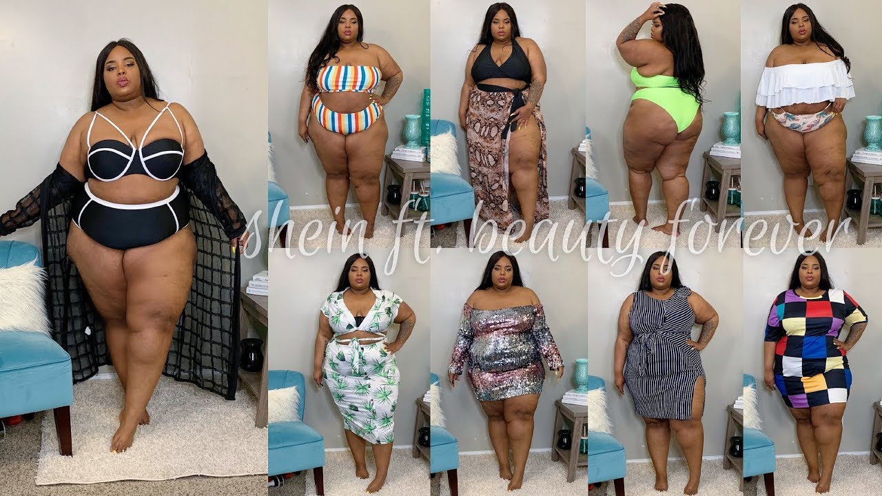 7c62a4527b Swimsuits & Beach Vibes | Plus Size Try-On Haul | SheIn ft. Beauty ...