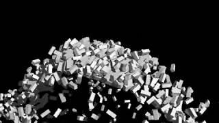本動画はShade 3D Professionalを利用した物理演算アニメーションサンプルになります。