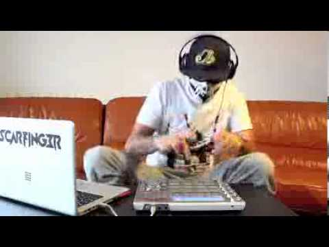 Doctor P   Flying Spaghetti Monster   Scarfinger   Remix   LIVE   MPC Studio