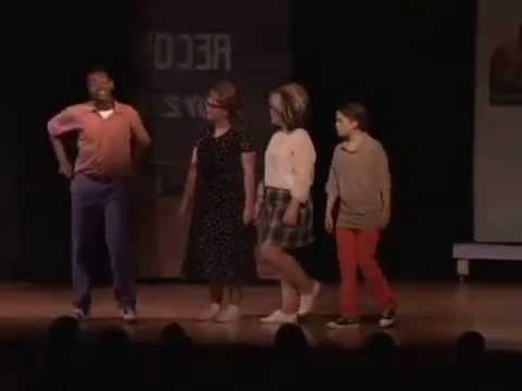 Dodgeball and Run and Tell That from Hairspray at Middletown Area Middle School
