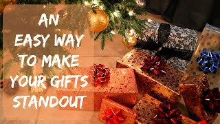 Wrapping Christmas Presents   Tips & Ideas   How To Wrap A Present The Easy Way   Bonus Hack