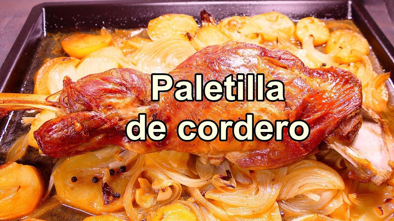 receta de Paletilla de cordero al horno - Recetas de cocina faciles ...