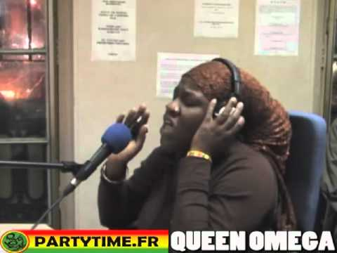 QUEEN OMEGA - Freestyle at Party Time Radio Show - 2009