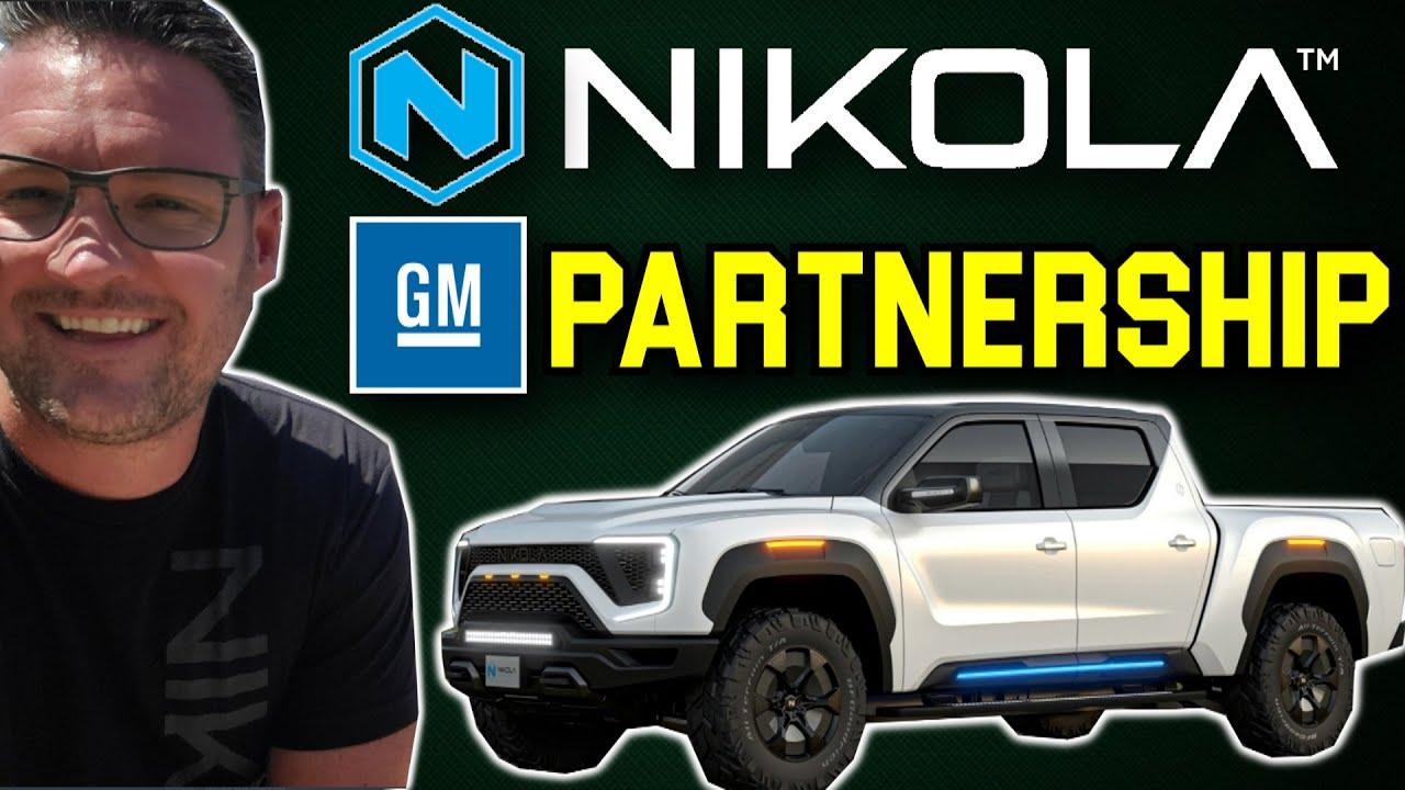 GM takes a $2 billion stake in Nikola to make electric pickup trucks