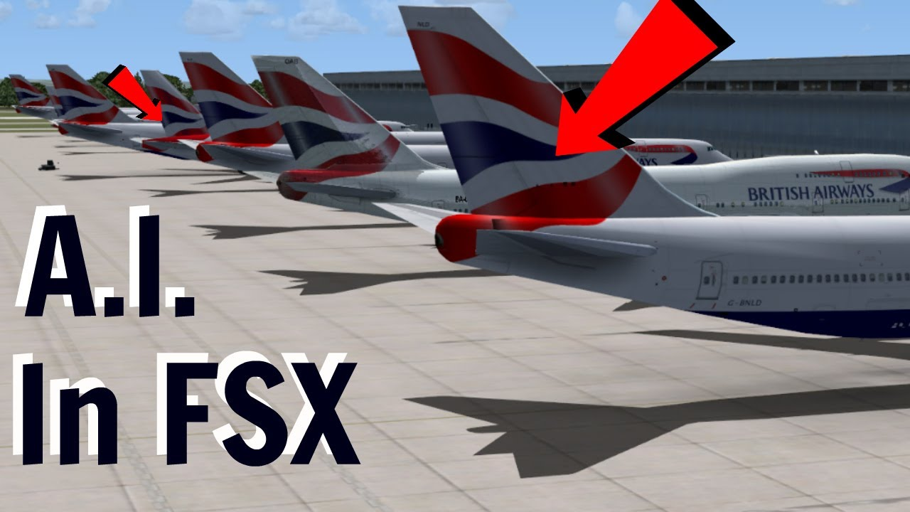 How to install AI traffic in FSX/FSX Steam Edition