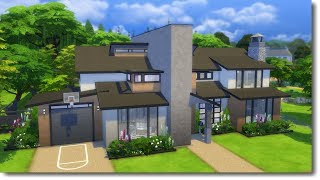 FAMILY MODERN | The Sims 4 Speed Build