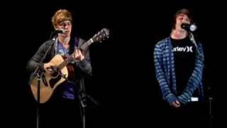 "All Time Low "" Dear Maria Count me In "" Acoustic"