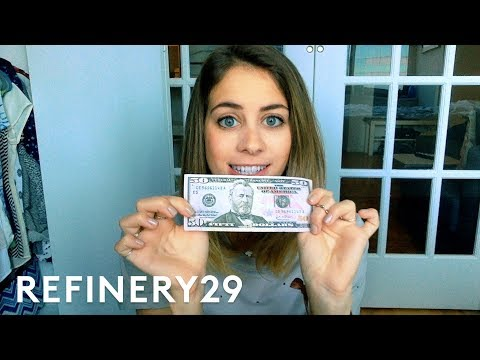 Lucie Fink Tries Living On Only $50 For One Week | Try Living with Lucie | Refinery29