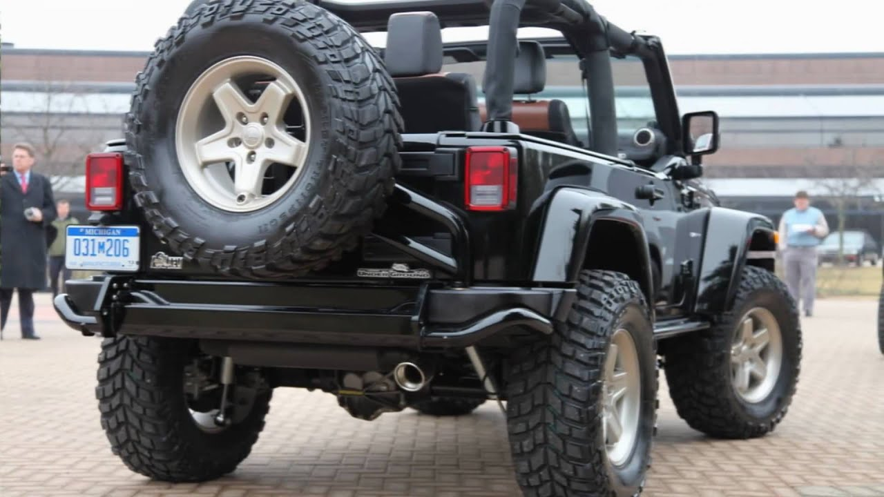Jeep Wrangler Renegade >> 2011 Mopar Jeep Wrangler Renegade Youtube