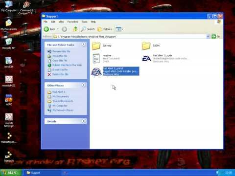 change cd key red alert 3 mac