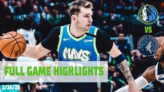 Luka_Doncic_(20_Points,_7_Assists)_Highlights_vs._Minnesota_Timberwolves