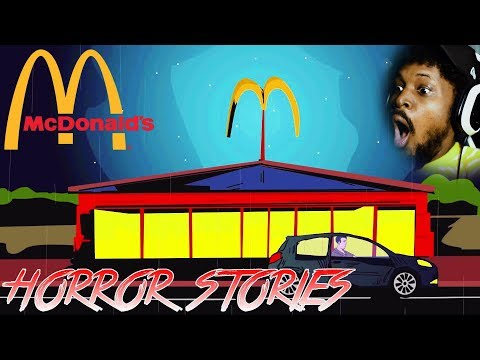 DON'T EAT MCDONALDS DURING MORNING HOURS | Reacting To Scary Stories (SSS)
