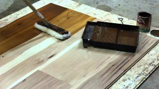 How to Finish Hickory Wood : Wood Flooring