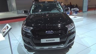 Ford Ranger Black Edition Limited 3.2 TDCI Double Cab (2018) Exterior and Interior