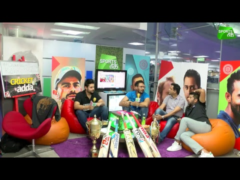 #CricketAdda: Md. Azharuddin, Nikhil Chopra Preview Kolkata VS Hyderabad Game | Sports Tak