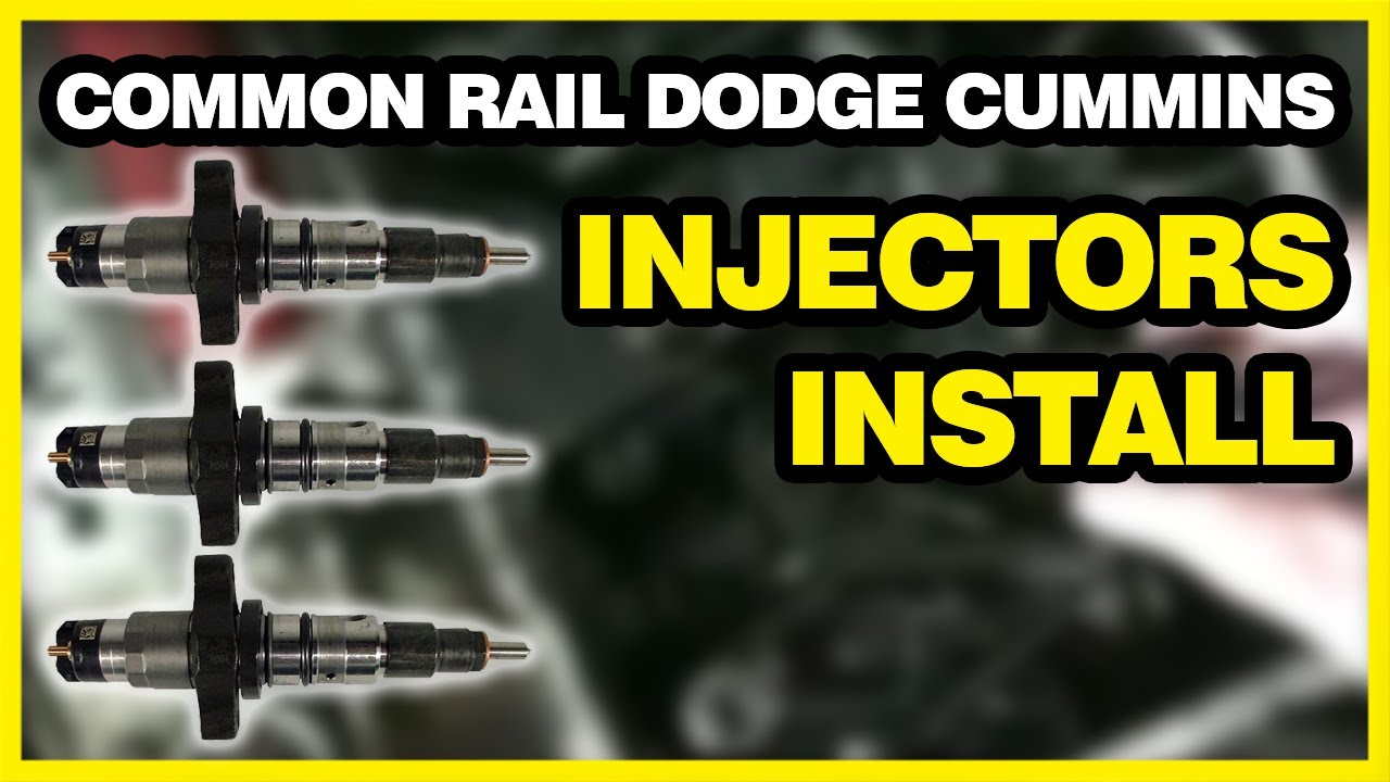 2004.5-2007 Dodge Ram Cummins 5.9L Diesel Fuel Injector