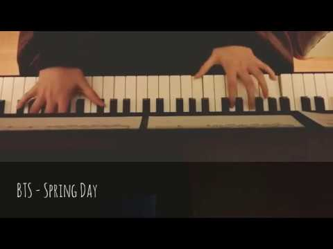 BTS - Spring Day Piano Cover