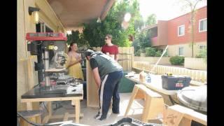Making Garden Tool Box - Stop Motion