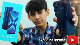 Gambar cover Buying Phone From Youtube Earning💵 | Honor 8x Unboxing | Pros Lab