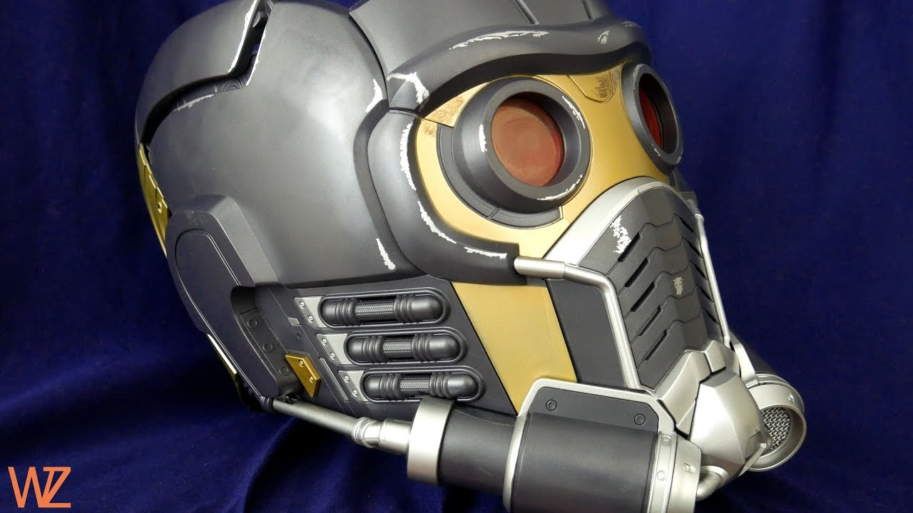 Marvel Legends Star-Lord Electronic Helmet Guardians of ...