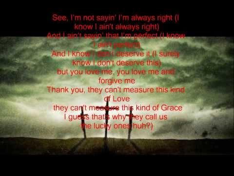 Lucky Ones - Lecrae Lyric Video