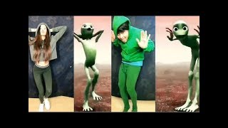 New Version Dame tu Cosita !!! Alien Dancing And Singing