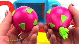 Gum Balls Microwave Toy Appliance Ice Cream Popsicle Fruit and Vegetable Learn Colors Creative Kids