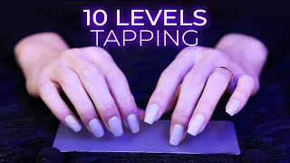 ASMR 10 Levels of Tapping | Tingle Immunity Treatment (No Talking)