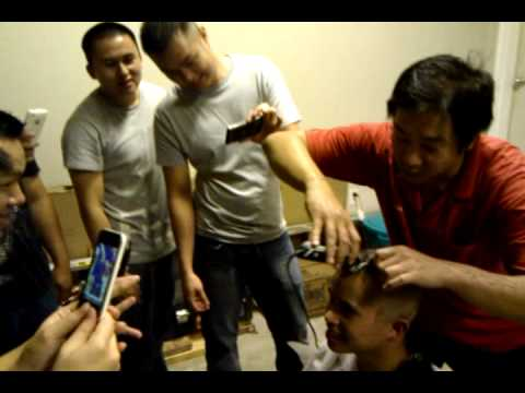 Shave Head For Losing Bet - image 6