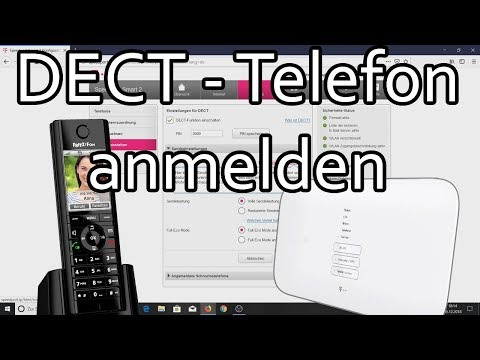 Telekom Speedport - DECT-Telefon Anmelden Und Rufnummer Zuweisen