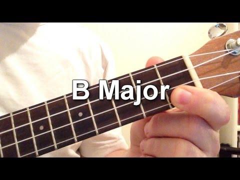 Bsus4 Baritone Ukulele Chord Worshipchords