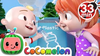 The Clean Up Trash Song + More Nursery Rhymes & Kids Songs - CoComelon