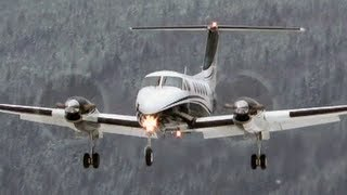 Beechcraft Super King Air 200 Hard Landing