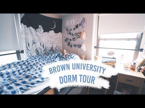 COLLEGE DORM TOUR   Brown University