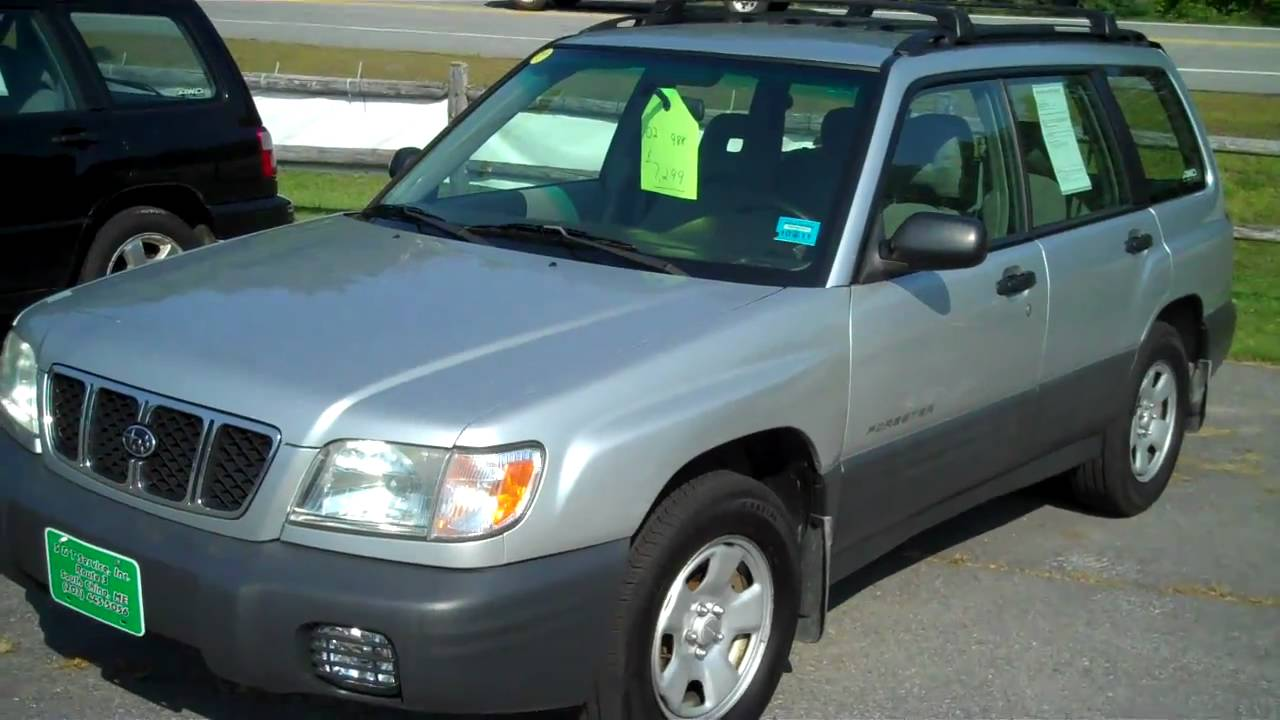 2002 Subaru Forester Diagram