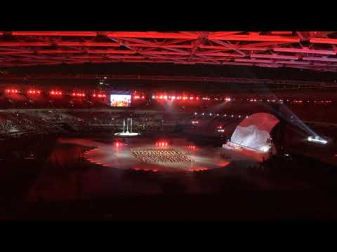 Indonesia Raya By Shanna Shannon - Opening Ceremony Asian Para Games Indonesia 2018