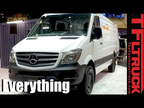 Mercedes-Benz Sprinter Worker Van: Everything You Ever Wanted to Know