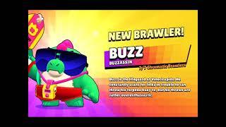 New Brawler, Buzz Unlock, @Brawl Stars #Shorts #BrawlStars