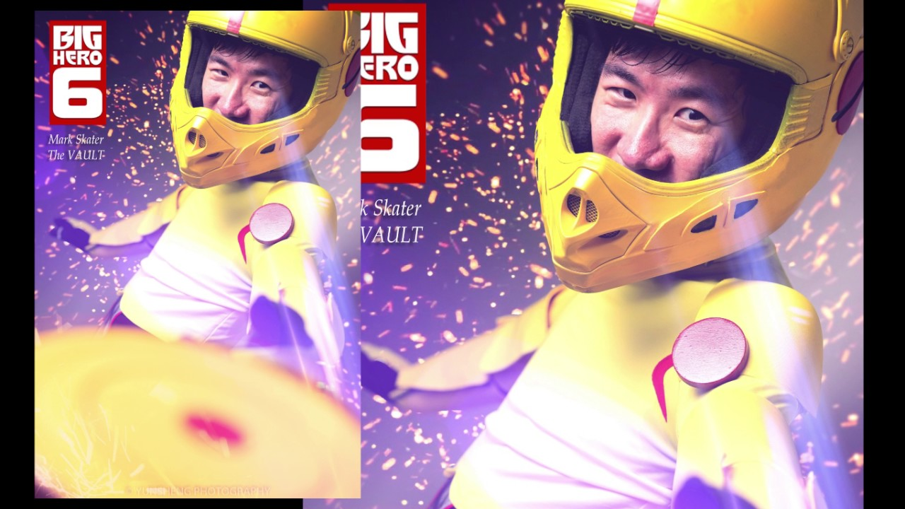 Big Hero 6 Gogo Process Layers Youtube