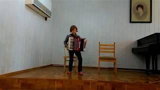 коробейники аккордеон Ермолаева Таня