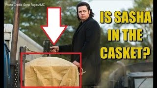 The Walking Dead Season 7 Episode 16 Discussion Is Sasha In A Casket? TWD 716