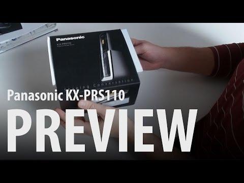 Panasonic KX-PRS110 : unboxing